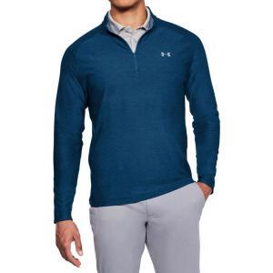 アンダーアーマー メンズ トップス ゴルフ Playoff Golf 1/4-Zip Academy Heather|fermart2-store