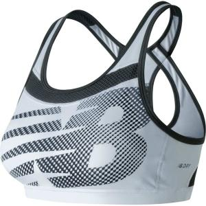 ニューバランス New Balance レディース スポーツブラ インナー・下着 pulse sports bra White|fermart2-store