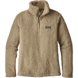 パタゴニア レディース フリース トップス Patagonia Los Gatos Quarter Zip Fleece Pullover El Cap Khaki|fermart2-store
