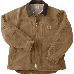 カーハート Carhartt メンズ コート アウター sandstone ridge coat Frontier Brown|fermart2-store