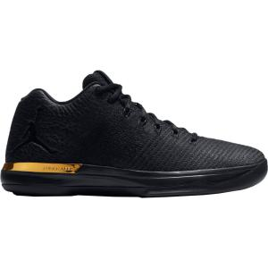ナイキ ジョーダン メンズ シューズ・靴 バスケットボール Jordan Air Jordan XXXI Low Basketball Shoes Black/Gold|fermart2-store