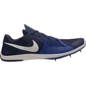 ナイキ メンズ シューズ・靴 陸上 Nike Zoom Forever XC 5 Track and Field Shoes Navy/White|fermart2-store