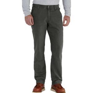 カーハート Carhartt メンズ オーバーオール ダンガリー ボトムス・パンツ rugged flex rigby dungaree pants Peat|fermart2-store
