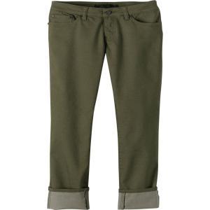 プラーナ レディース スウェット・ジャージ ボトムス・パンツ prAna Kara Pants Cargo Green|fermart2-store