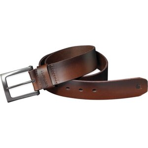 カーハート Carhartt メンズ ベルト anvil leather belt Brown|fermart2-store