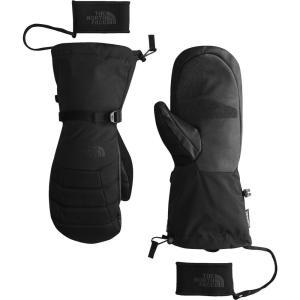 ザ ノースフェイス メンズ 手袋・グローブ Montana GORE-TEX Mitt TNF Black|fermart2-store