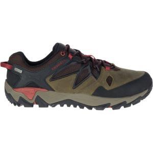 メレル メンズ シューズ・靴 ハイキング・登山 Merrell All Out Blaze 2 Waterproof Hiking Shoes Dark Olive|fermart2-store