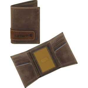 カーハート Carhartt ユニセックス 財布 Two-Tone Trifold Wallet Brown|fermart2-store