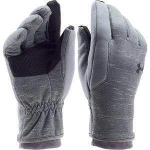 アンダーアーマー メンズ 手袋・グローブ Elements Gloves Graphite/Overcast Gry/Blk|fermart2-store