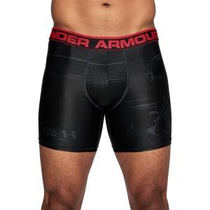 アンダーアーマー Under Armour メンズ ボクサーパンツ インナー・下着 Star Wars Vader Original Series Boxerjock Boxer Briefs Anthracite/Black/Black|fermart2-store