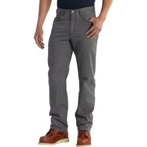 カーハート Carhartt メンズ ボトムス・パンツ Rugged Flex Rigby 5-Pocket Pants Gravel|fermart2-store