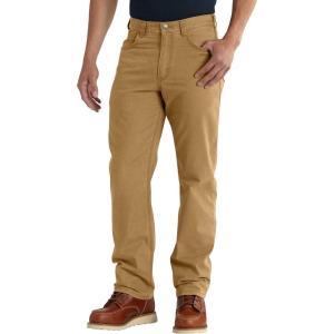 カーハート Carhartt メンズ ボトムス・パンツ rugged flex rigby 5-pocket pants Hickory|fermart2-store