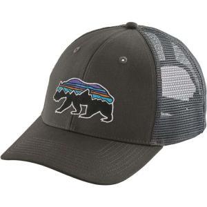 パタゴニア ユニセックス キャップ 帽子 Fitz Roy Bear Trucker Hat Forge Grey|fermart2-store