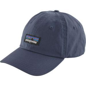 パタゴニア Patagonia メンズ キャップ 帽子 P-6 Label Trad Cap Dolomite Blue|fermart2-store