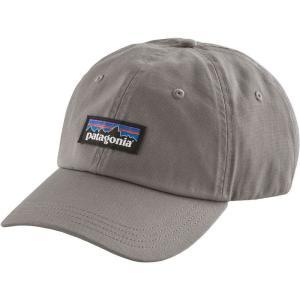 パタゴニア Patagonia メンズ キャップ 帽子 P-6 Label Trad Cap Drifter Grey|fermart2-store