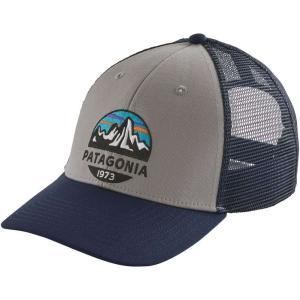 パタゴニア ユニセックス キャップ 帽子 Fitz Roy Scope Lopro Trucker Hat Drifter Grey|fermart2-store