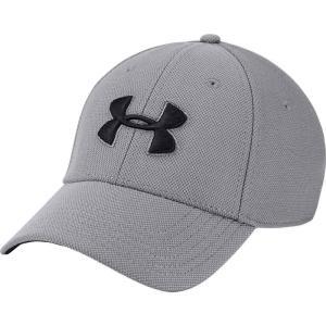 アンダーアーマー メンズ 帽子 Blitzing Hat 3.0 Graphite/Black|fermart2-store