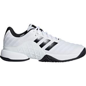 アディダス メンズ シューズ・靴 テニス Barricade 2018 Tennis Shoes White/Black|fermart2-store