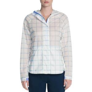 スケッチャーズ レディース ジャケット アウター Go Golf GO Shield Jubilee Golf Jacket White|fermart2-store