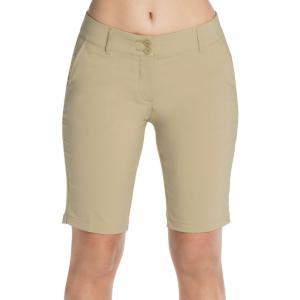 スケッチャーズ レディース ボトムス・パンツ ゴルフ Skechers Go Golf High Side Bermuda Golf Shorts Khaki|fermart2-store