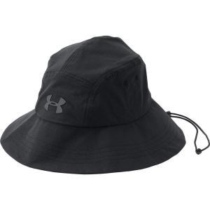 アンダーアーマー メンズ ハット 帽子 Under Armour ArmourVent Warrior 2.0 Bucket Hat Black/Black|fermart2-store