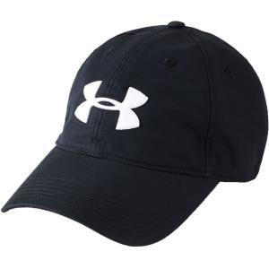 アンダーアーマー ユニセックス キャップ 帽子 Chino 2.0 Golf Hat Black/White|fermart2-store