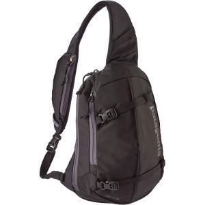 パタゴニア ユニセックス バックパック・リュック バッグ Atom Sling Backpack Black|fermart2-store