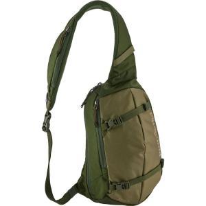 パタゴニア ユニセックス バックパック・リュック バッグ Atom Sling Backpack Fatigue Green|fermart2-store