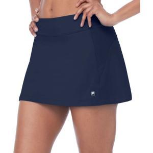 フィラ Fila レディース ミニスカート スコート スカート core a-line skort Navy|fermart2-store