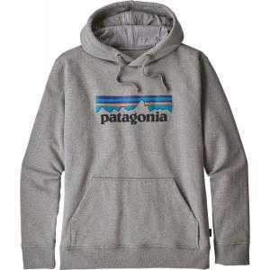 パタゴニア Patagonia メンズ パーカー トップス P-6 Logo Uprisal Hoodie Gravel Heather|fermart2-store