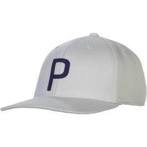 プーマ PUMA メンズ キャップ 帽子 Throwback P 110 Snapback Golf Hat Quarry|fermart2-store
