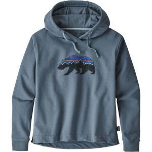 パタゴニア Patagonia レディース パーカー トップス Fitz Roy Bear Uprisal Hoodie Shadow Blue|fermart2-store
