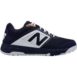 ニューバランス New Balance メンズ シューズ・靴 野球 3000 V4 Turf Baseball Cleats Navy/White|fermart2-store