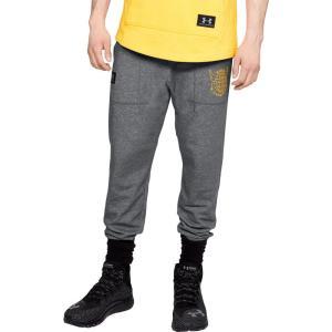 アンダーアーマー メンズ ジョガーパンツ ボトムス・パンツ Under Armour Project Rock Chase Great Jogger Pants Graphite/Steeltown Gold|fermart2-store
