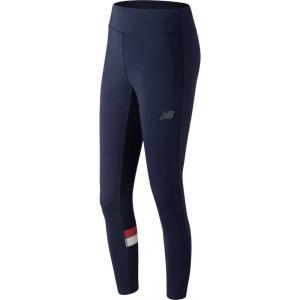 ニューバランス New Balance レディース スパッツ・レギンス インナー・下着 nb athletics leggings Pigment/Red|fermart2-store