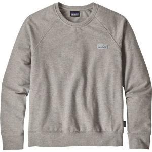 パタゴニア Patagonia レディース スウェット・トレーナー トップス Pastel P-6 Label Ahnya Crew Sweatshirt Drifter Grey|fermart2-store