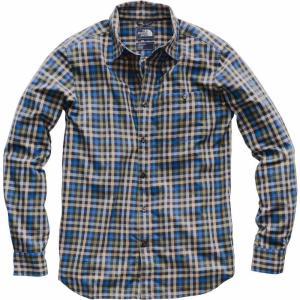 ザ ノースフェイス The North Face メンズ 長袖Tシャツ トップス Hayden Pass 2.0 Long Sleeve Shirt Weathered Blck Glen Plaid|fermart2-store