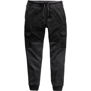 ザ ノースフェイス The North Face メンズ カーゴパンツ ボトムス・パンツ Alphabet City Fleece Cargo Pants Tnf Dk Gry Hthr/Tnf Black|fermart2-store