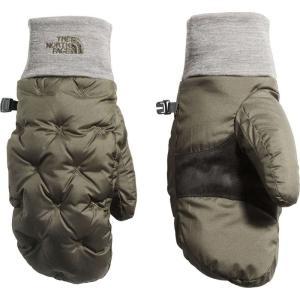 ザ ノースフェイス The North Face レディース 手袋・グローブ Stitched Down Mittens Newtaupegrn/Tnfmedmgryht|fermart2-store