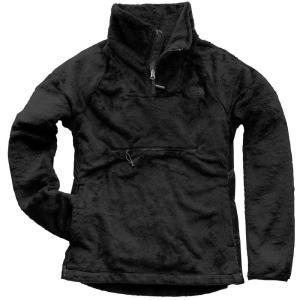 ザ ノースフェイス The North Face レディース フリース トップス Osito Sport Hybrid 1/4 Zip Fleece Pullover Weathered Black|fermart2-store