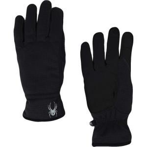 スパイダー Spyder メンズ 手袋・グローブ Centennial Gloves Black/Black/Black|fermart2-store