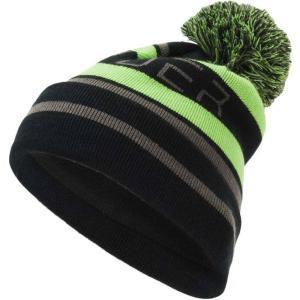 スパイダー Spyder メンズ ニット 帽子 Icebox Pom Beanie Black/Fresh/Polar|fermart2-store