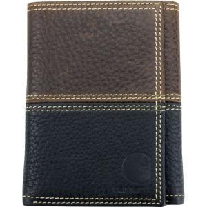 カーハート Carhartt ユニセックス 財布 rugged trifold wallet Brown|fermart2-store