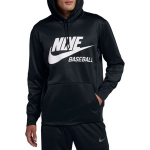 ナイキ Nike メンズ トップス 野球 Baseball Pullover Hoodie Black|fermart2-store