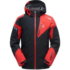 スパイダー Spyder メンズ ジャケット アウター Leader GTX Jacket Black/Red/Black|fermart2-store