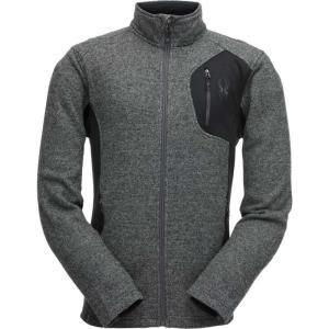 スパイダー Spyder メンズ ジャケット アウター Bandit Full Zip Stryke Jacket Blk/Blk/Pol|fermart2-store