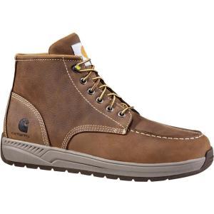 カーハート Carhartt メンズ 革靴・ビジネスシューズ ウェッジソール シューズ・靴 oxford wedge 4'' work shoes Brown|fermart2-store