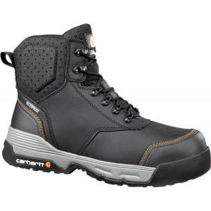 カーハート Carhartt メンズ ブーツ ワークブーツ シューズ・靴 force 6'' waterproof composite toe work boots Black|fermart2-store