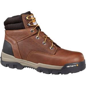 カーハート Carhartt メンズ ブーツ ワークブーツ シューズ・靴 ground force 6'' composite toe work boots Peanut|fermart2-store