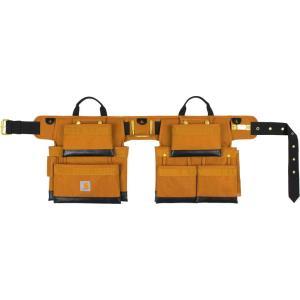 カーハート Carhartt ユニセックス ベルト legacy 2.0 deluxe tool belt Carhartt Brown|fermart2-store